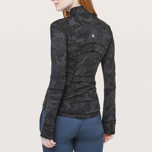 Lulu🍋 Camo Grey Define Jacket Incognito Camo Sz 6
